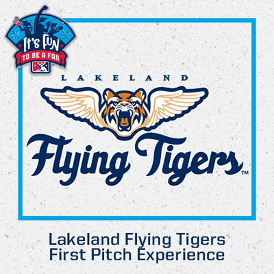 2021 Lakeland Flying Tigers First Pitch Experience