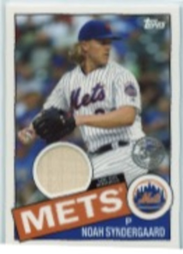 Photo of 2020 Topps '85 Topps Relics #85TRNS Noah Syndergaard