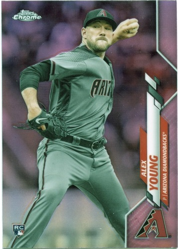 Photo of 2020 Topps Chrome Pink Refractors #115 Alex Young