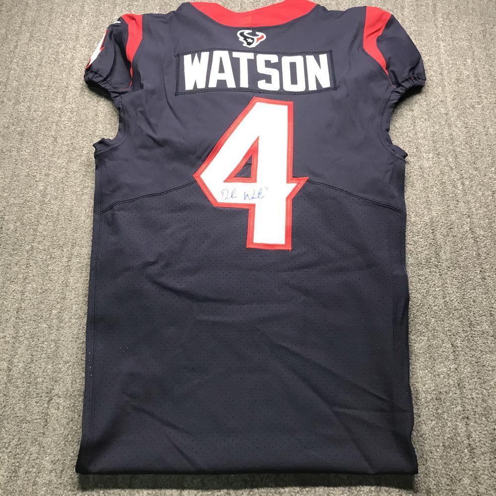 NFL - Texans Deshaun Watson Signed Jersey Size 40