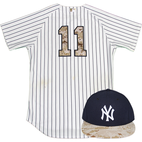 online store c78af ac243 MLB Auctions | Brett Gardner Uniform - NY Yankees 2015 Game ...