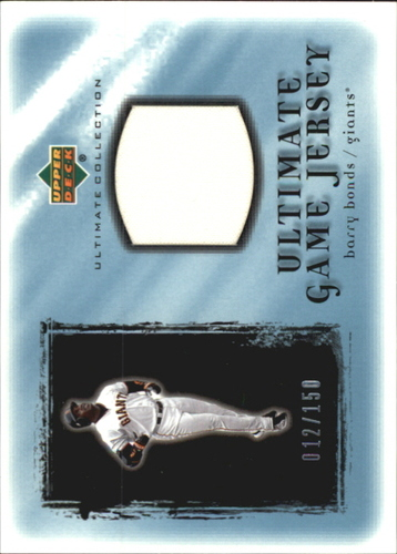 Photo of 2001 Ultimate Collection Game Jersey #UBB Barry Bonds