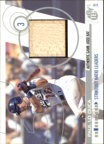 Photo of 2002 Topps Ten Relics #TTRPL Paul LoDuca Bat C