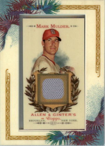 Photo of 2007 Topps Allen and Ginter Relics #MMU Mark Mulder Pants J