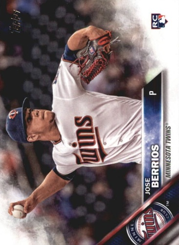 Photo of 2016 Topps Update #US176A Jose Berrios Rookie Card