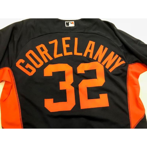 Photo of Team-Issued Tom Grozelanny Road Batting Practice Jersey