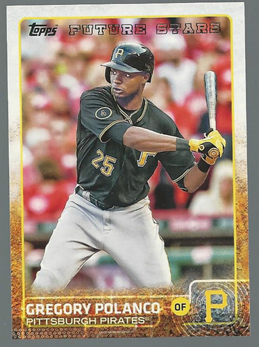Photo of 2015 Topps #253 Gregory Polanco FS