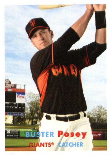 Photo of 2015 Topps Archives #82 Buster Posey