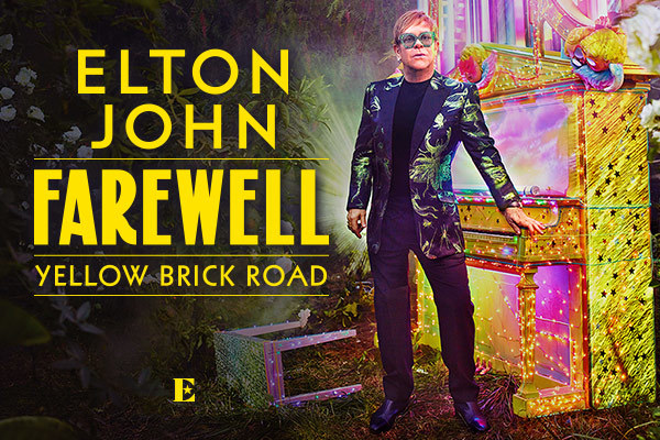 Clickable image to visit LAST CHANCE! See the iconic Elton John in Brooklyn