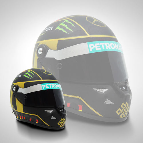 Photo of Nico Rosberg 2014 1:2 Scale Helmet