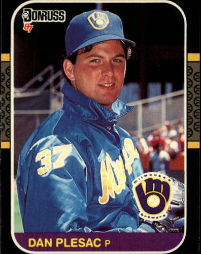 Photo of 1987 Donruss #214 Dan Plesac