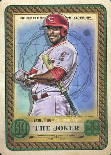 Photo of 2019 Topps Gypsy Queen Tarot of the Diamond #11 Yasiel Puig