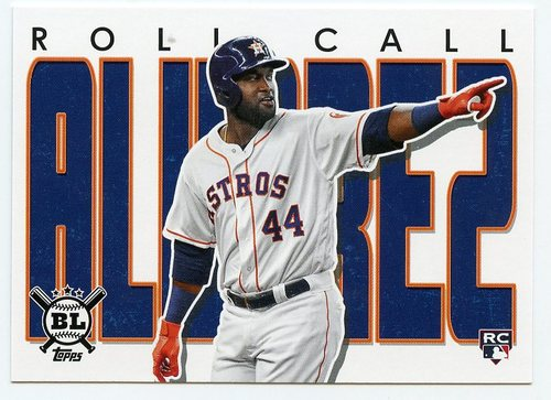 Photo of 2020 Topps Big League Roll Call #RC4 Yordan Alvarez