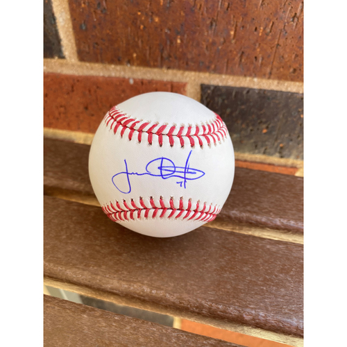 Photo of Jacob Webb MLB Authenticated Autographed Baseball