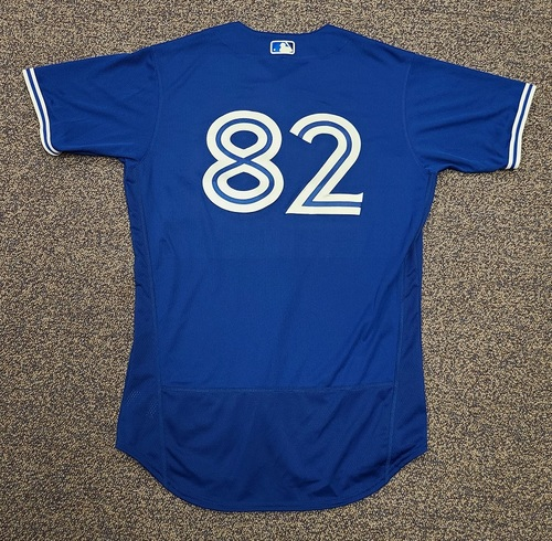 Photo of Authenticated Team Issued 2020 Spring Training Jersey: #82 Forrest Wall. Size 44