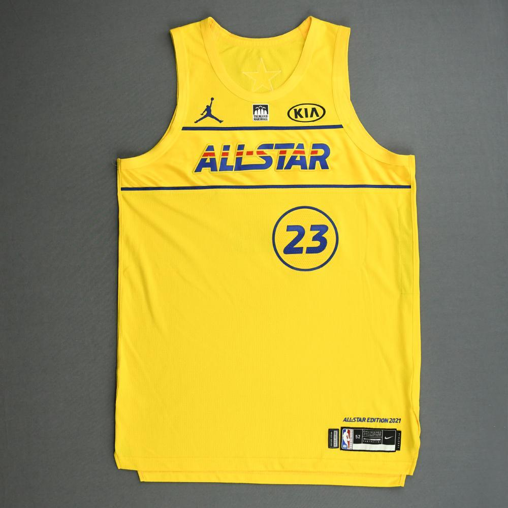 LeBron James - Game-Worn 2021 NBA All-Star Jersey - 1st Half