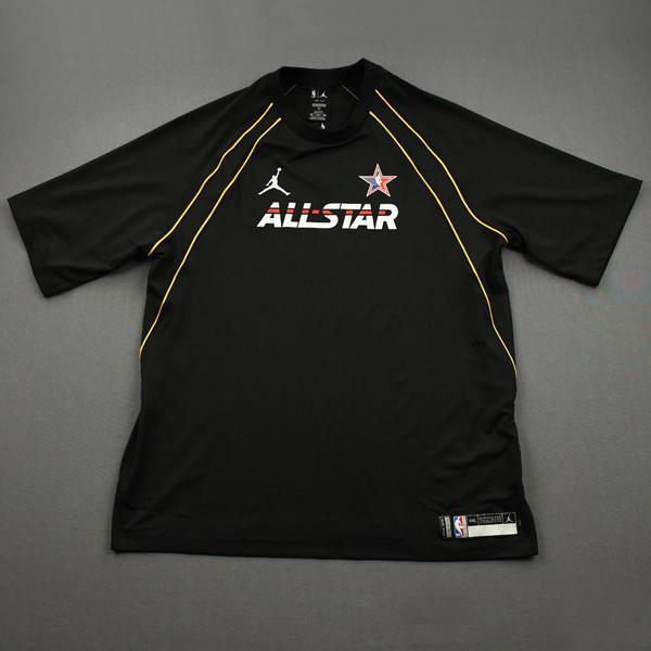 Image of Nikola Jokic - Game-Issued 2021 NBA All-Star Short-Sleeved Shooting Shirt