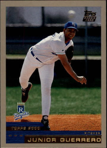 Photo of 2000 Topps Traded #T62 Junior Guerrero RC