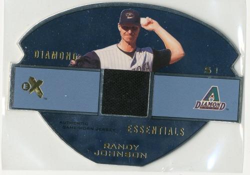 Photo of 2003 E-X Diamond Essentials Game Jersey 345 #RJ Randy Johnson