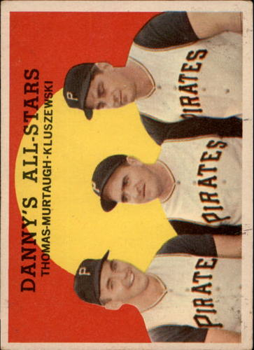 Photo of 1959 Topps #17 Danny's All-Stars/Frank Thomas/Danny Murtaugh MG/Ted Kluszewski