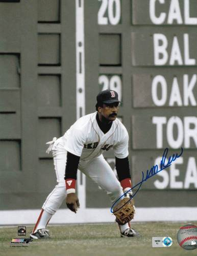 Photo of Jim Rice Autographed 8x10