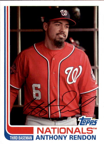 Photo of 2017 Topps Archives #183 Anthony Rendon