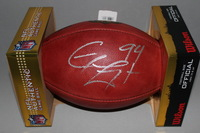 CHARGERS - COREY LIUGET SIGNED AUTHENTIC FOOTBALL