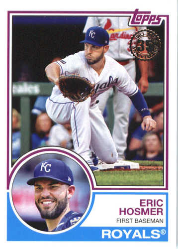 Photo of 2018 Topps '83 Topps #8391 Eric Hosmer