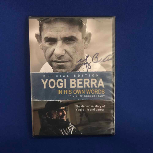 Photo of UMPS CARE AUCTION: Yogi Berra Special Edition 'in His Own Words' DVD Documentary