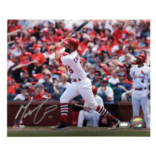 Photo of Cardinals Authentics: Matt Carpenter Autographed 8 x 10 Photo
