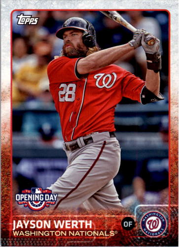 Photo of 2015 Topps Opening Day #191 Jayson Werth