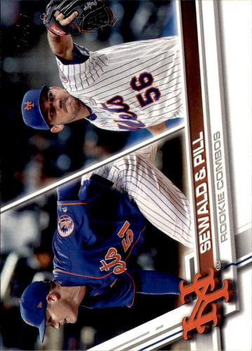 Photo of 2017 Topps Update #US3 Paul Sewald RC/Tyler Pill RC