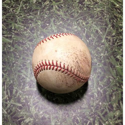 Photo of Game-Used Baseball LAD@MIL 08/17/11 - Zack Greinke - Tony Gwynn, Jr: Ball