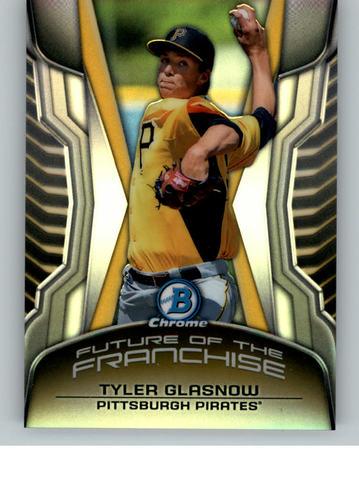 Photo of 2014 Bowman Chrome Draft Future of the Franchise Mini #FFTG Tyler Glasnow