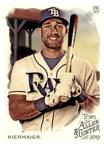 Photo of 2019 Topps Allen and Ginter #253 Kevin Kiermaier