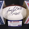 NFL - Falcons Jessie Tuggle Signed Panel Ball