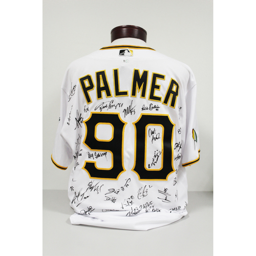 Photo of Team Signed Arnold Palmer Pirates Jersey