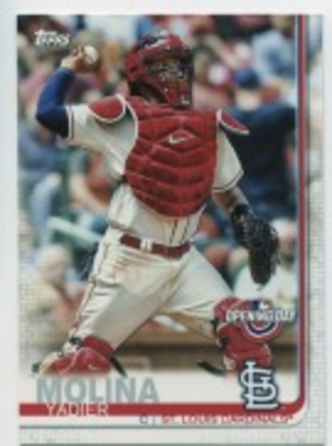 Photo of 2019 Topps Opening Day #102 Yadier Molina