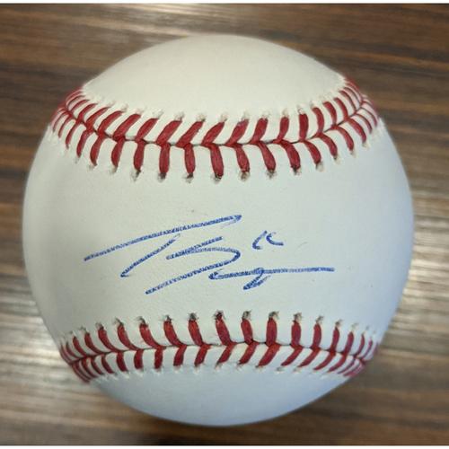 Tanner Scott - Autographed Baseball