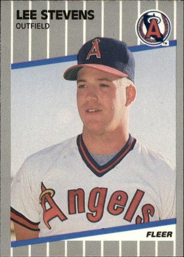 Photo of 1989 Fleer Update #16 Lee Stevens RC