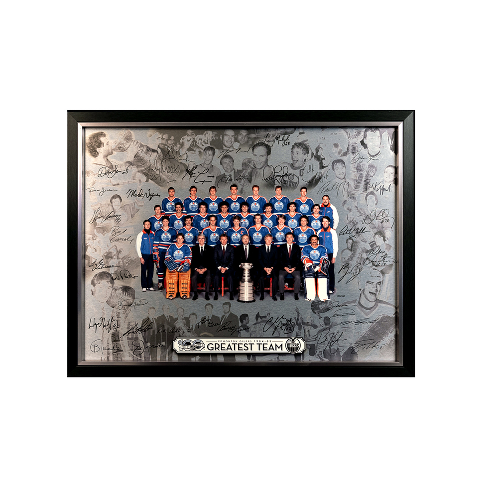 1984-85 Edmonton Oilers Stanley Cup Champions Centennial Greatest Team 24