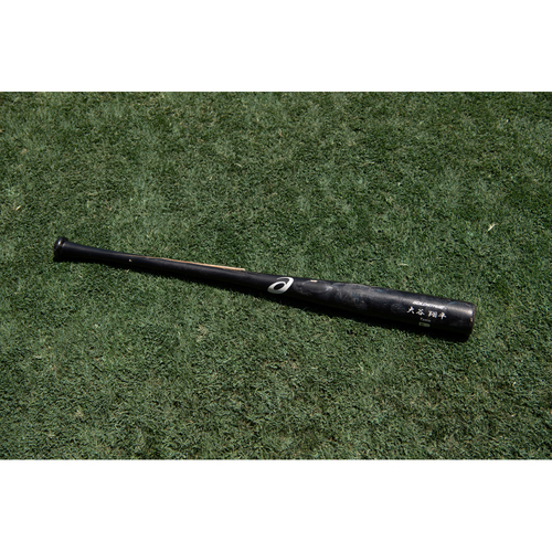 Photo of Shohei Ohtani Game Used Broken Bat - 2019 Season
