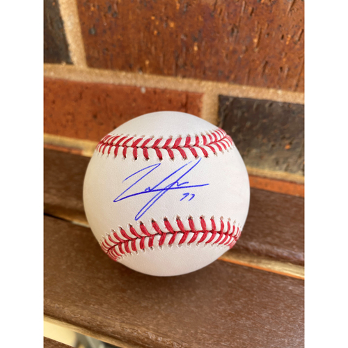 Photo of Luke Jackson MLB Authenticated Autographed Baseball