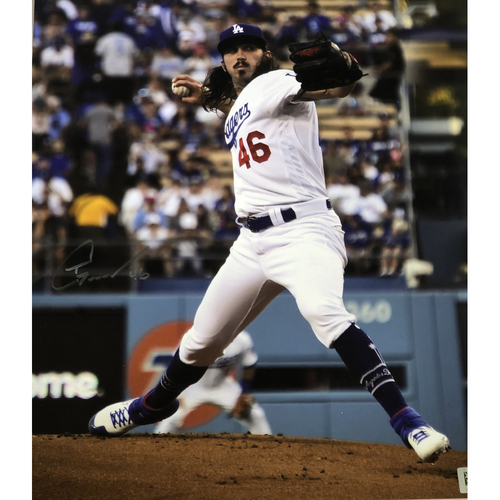 Photo of Tony Gonsolin Authentic Autographed Photograph
