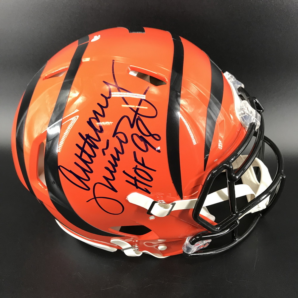 Legends - Bengals Anthony Munoz Signed Authentic Speed Helmet