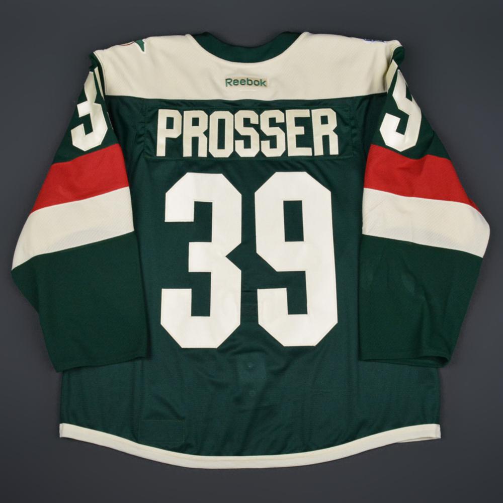 huge discount 42fe8 8e169 Nate Prosser - Minnesota Wild - 2016 NHL Stadium Series ...