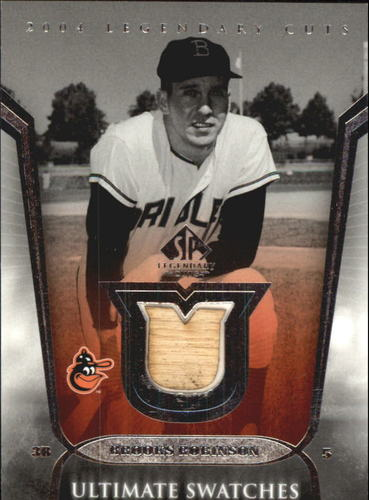 Photo of 2004 SP Legendary Cuts Ultimate Swatches #BR Brooks Robinson Bat