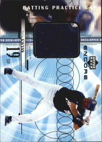 Photo of 1999 Upper Deck Encore Batting Practice Caps #CTG Tony Gwynn