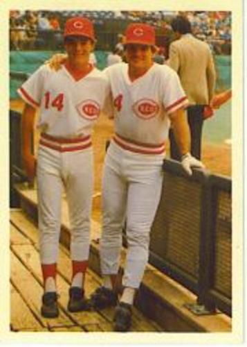 Photo of 1985 Topps Rose #115 Pete Rose/with son