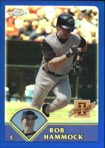 Photo of 2003 Topps Chrome Traded Refractors #T189 Rob Hammock FY